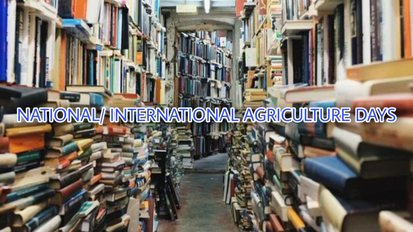 NATIONAL INTERNATIONAL AGRICULTURE DAYS
