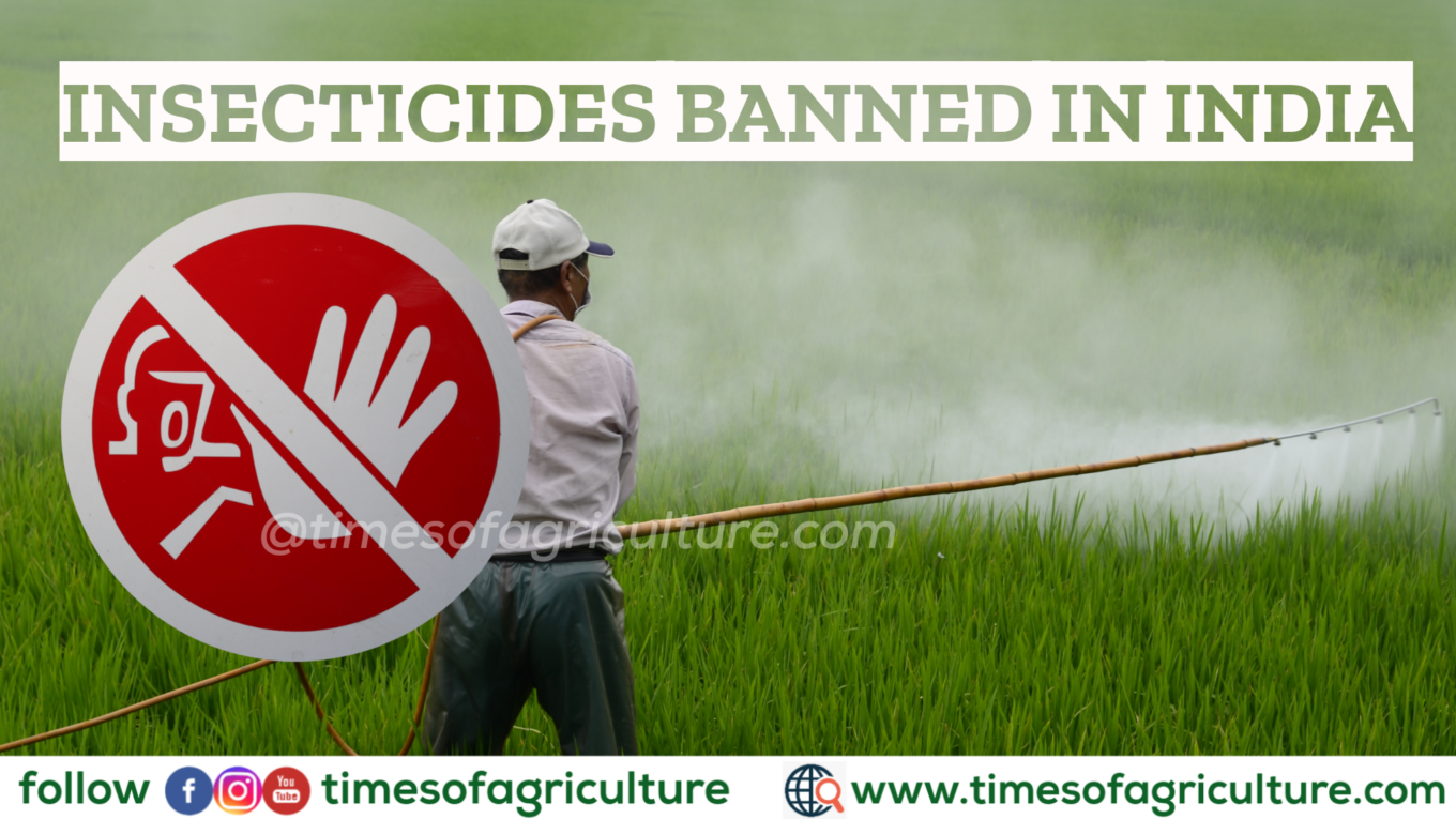 INSECTICIDES BANNED IN INDIA
