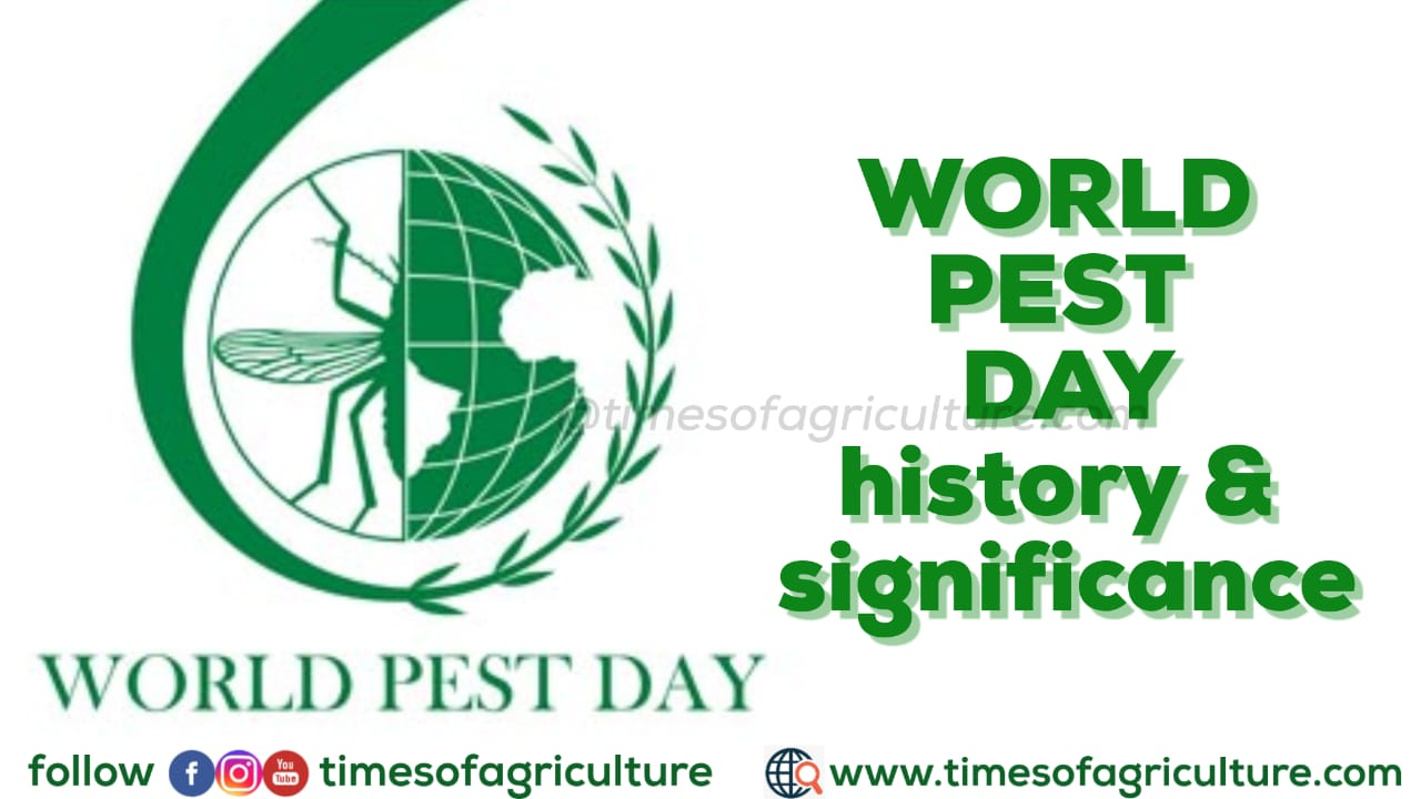 WORLD PEST DAY HISTORY AND SIGNIFICANCE